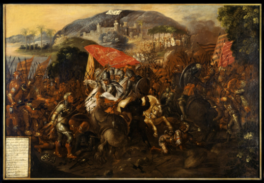 The Conquest of Mexico Paintings
