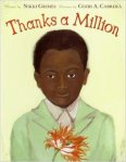 Thanks a Million by Nikki Grimes and teaching children about gratitude