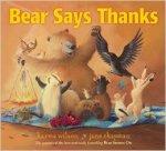 Bear Says Thanks teaching children about gratitude