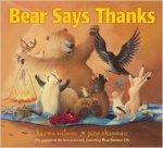 Bear Says Thanks teaching children about gratitude