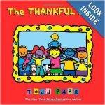 The Thankful Book teaching children about gratitude