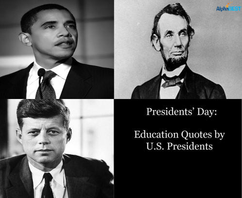 Presidents' Day: Educational Quotes by U.S. Presidents