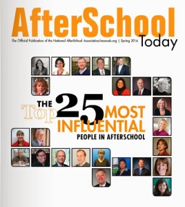 NAA top 25 most influential people in afterschool